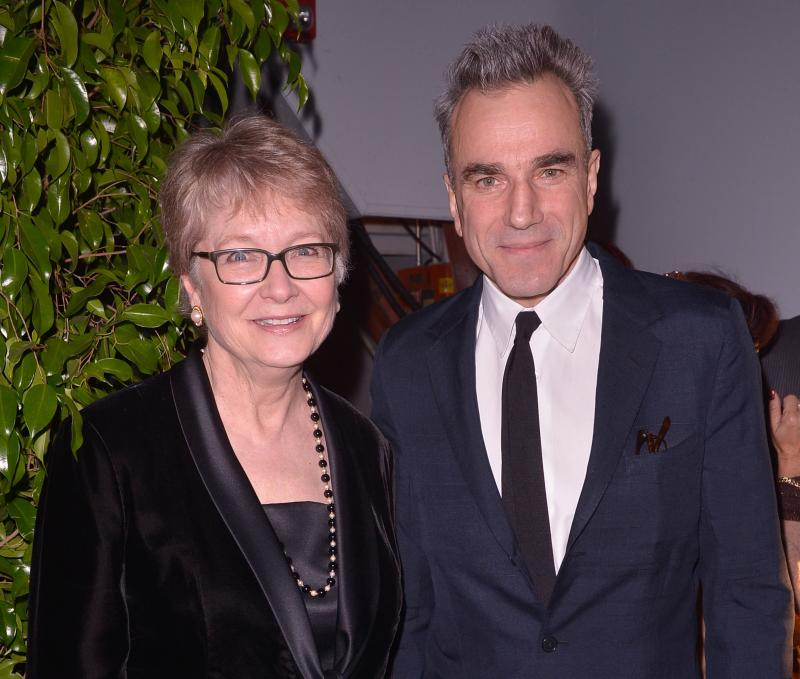 "Cynthia Haines and ""Lincoln"" star Daniel Day Lewis"