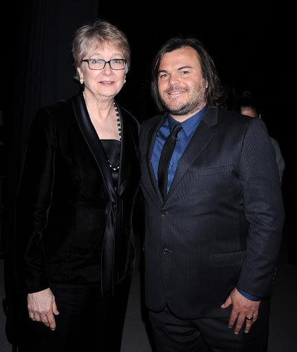 Cynthia Haines and Jack Black