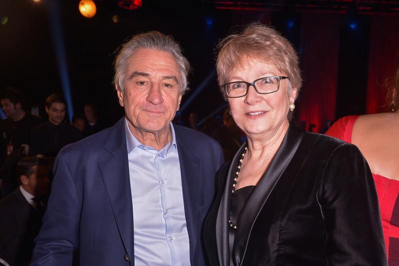 Robert De Niro and Cynthia Haines