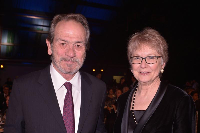 Tommy Lee Jones and Cynthia Haines