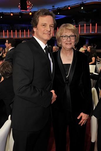 Colin Firth and Cynthia Haines