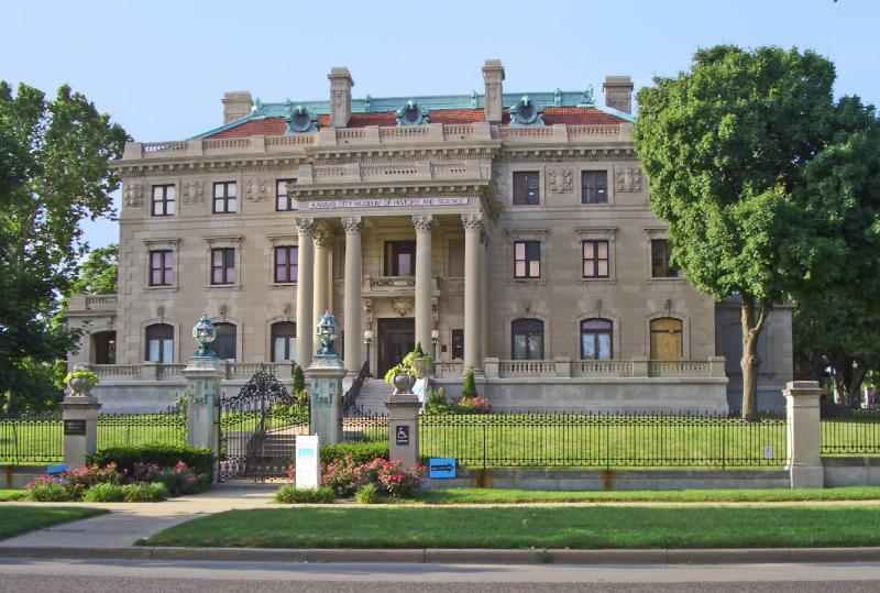 The Kansas City Museum regally resides in the historic Northeast.
