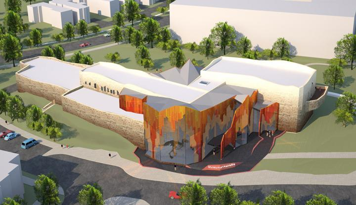 A museum will feature traveling exhibitions from the American Museum of Natural History.