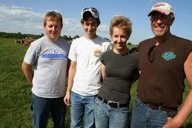 From L to R: Callaway, Carter, Julie and Eric Neill of Neill and Sons Dairy