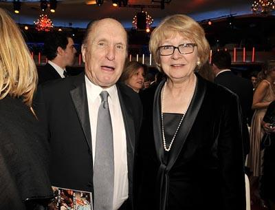 Robert Duvall and Cynthia Haines