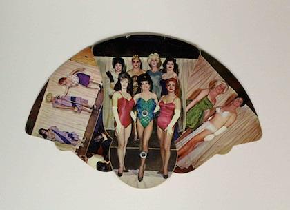 Souvenir fan from the historic Jewel Box