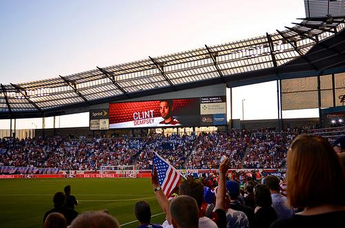 Livestrong Sporting Park in Kansas City, Kan.