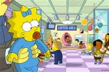 "Maggie Simpson at the Ayn Rand School for Tots in ""The Longest Daycare"""