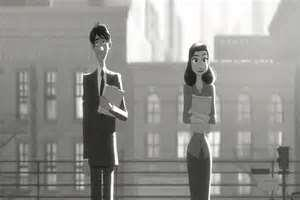 "Disney's Oscar-nominated animated short ""Paperman"""