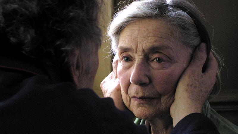 "Best Actress nominee Emmanuelle Riva in Michael Haneke's ""Amour"""