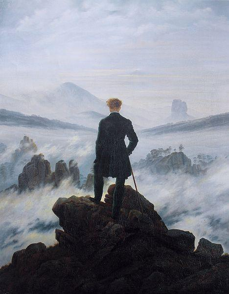The Wanderer Above the Sea of Fog, circa 1818