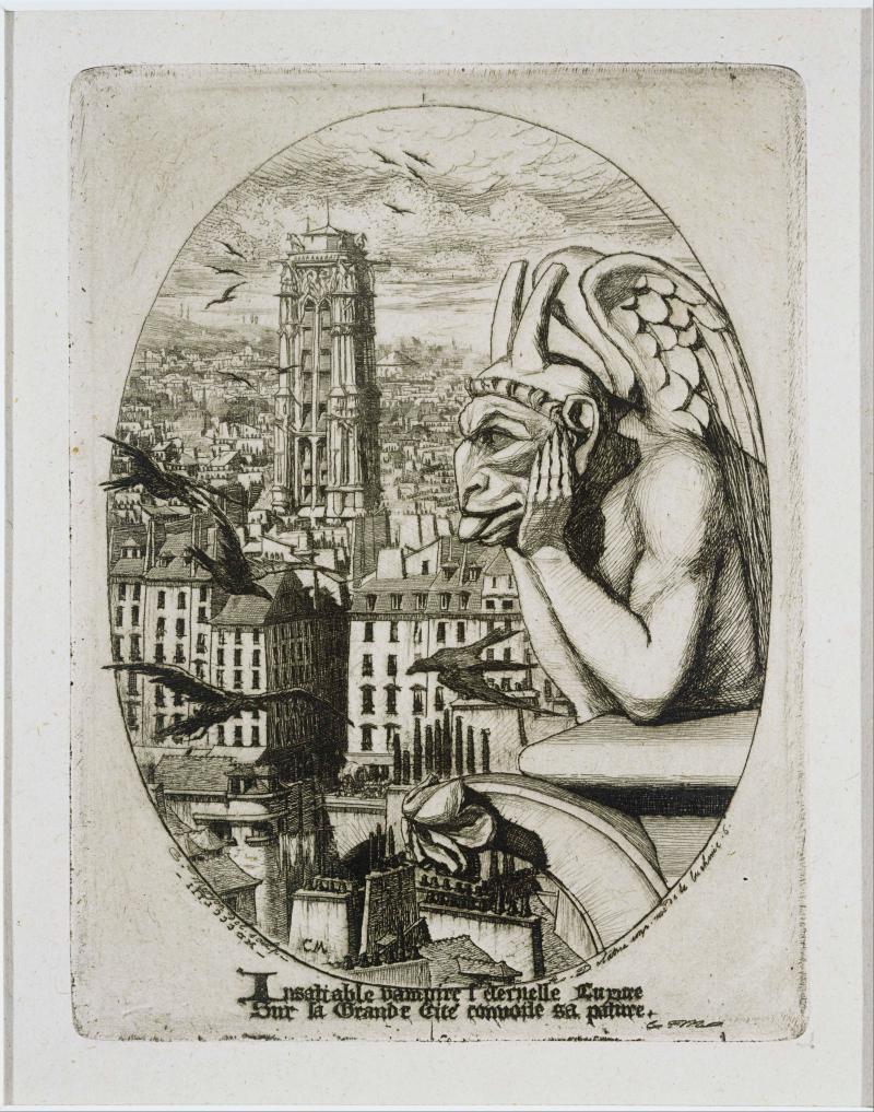 Le Stryge (The Vampire), 1853
