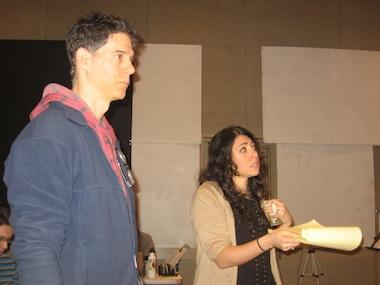 "Michael Rohd and Rachel Chavkin, co-directors of KC Rep's ""Waiting for You"