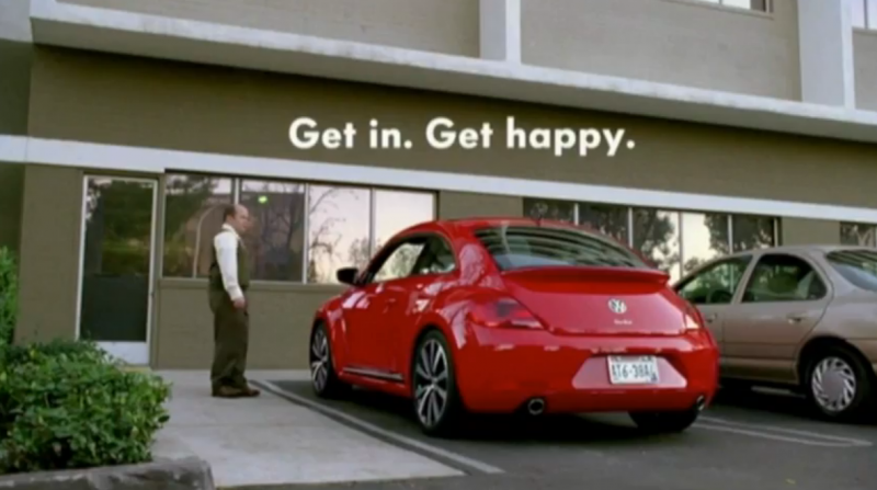 2013 Superbowl ad from Volkswagon.