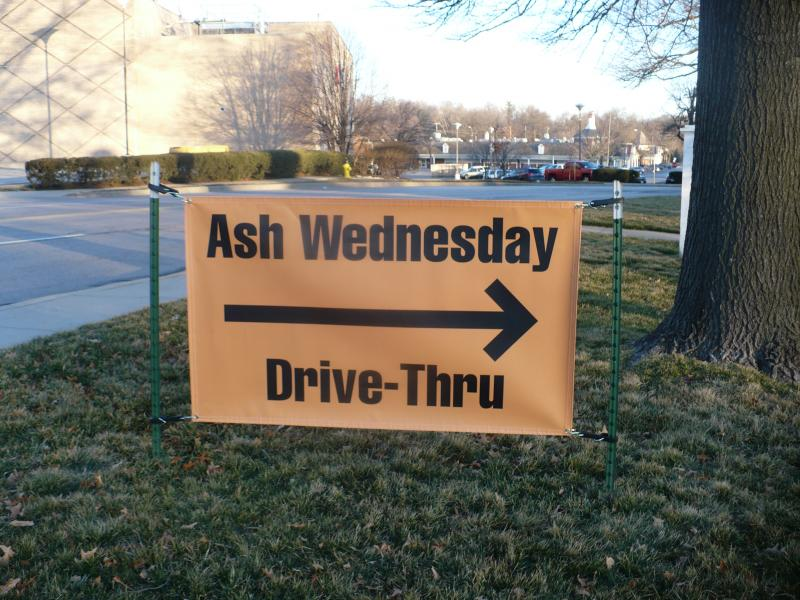 Church welcomes commuters.