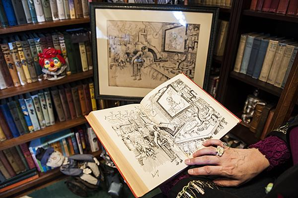 Albright owns an original illustration from 'The Wonder City of Oz.'