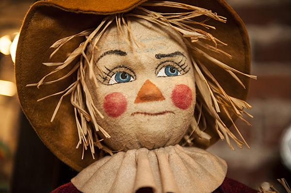 A felt Scarecrow.
