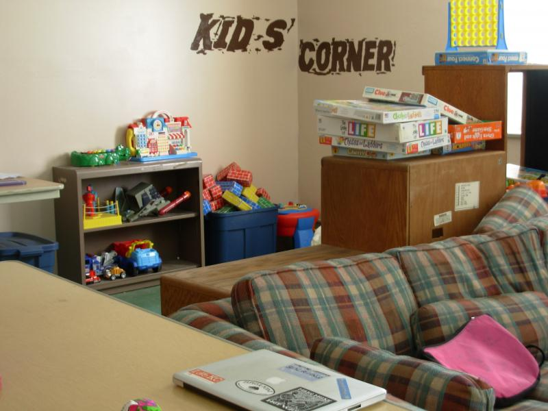 The Kids' Corner at La Paz House