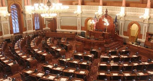 The Kansas House chamber