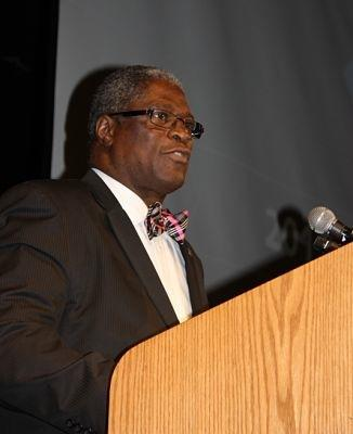 Mayor Sly James gives his State of the City address.