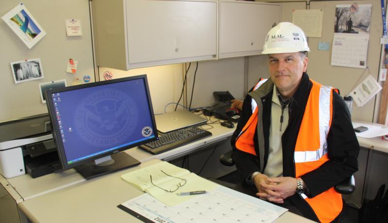 Tim Barr, Dept of Homeland Security site manager for the NBAF site in Manhattan, Kansas.