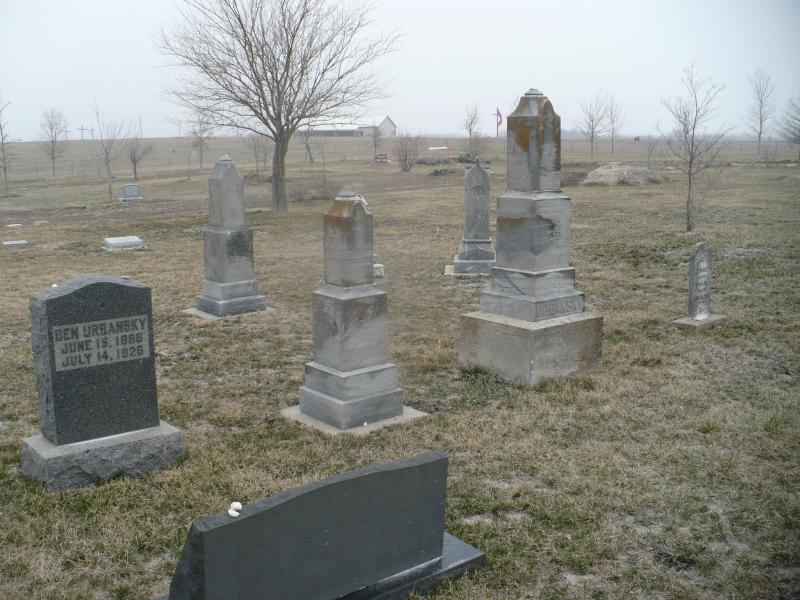 Cemetery in Eudora, KS