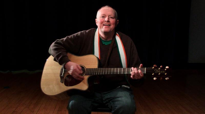 Dublin-born Irish singer Eddie Delahunt.