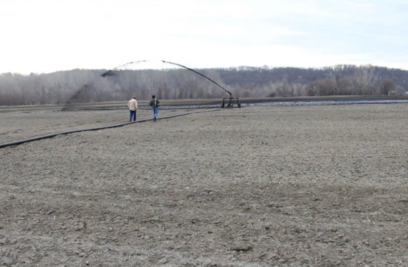 Birmingham Farm, owned by the city of Kansas City, Mo., uses treated human waste as fertilizer.