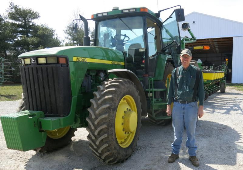 Farmer Wayne Ladage is a loyal Burrus Seed customer and distributor.