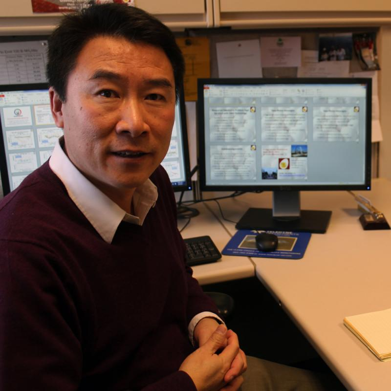 Hongwei Xin, Iowa State University professor and Egg Industry Center director, this week will present his findings on the environmental impact of the egg industry.