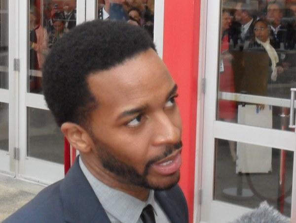 Andre Holland, who plays Wendell Smith.
