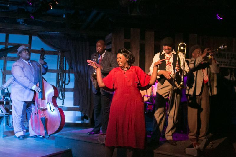 The Dusky Devastators, a roadhouse jazz band, in 'Bud, Not Buddy'