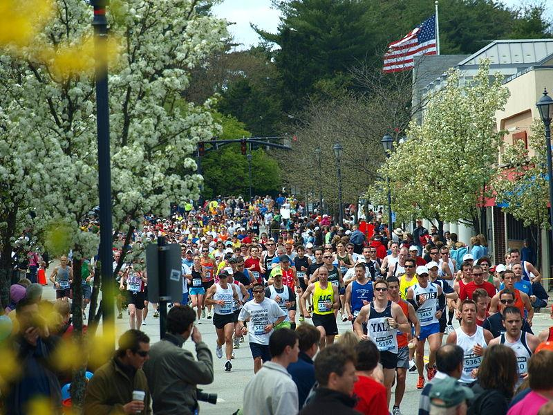 The Boston Marathon in 2010