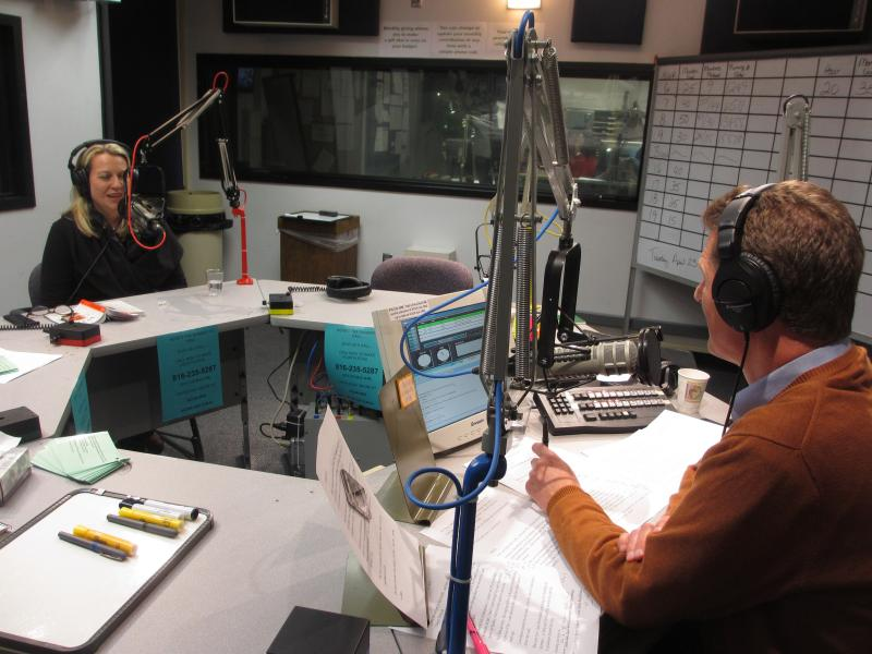 Cheryl Strayed joined Steve Kraske in the studio for Up to Date.