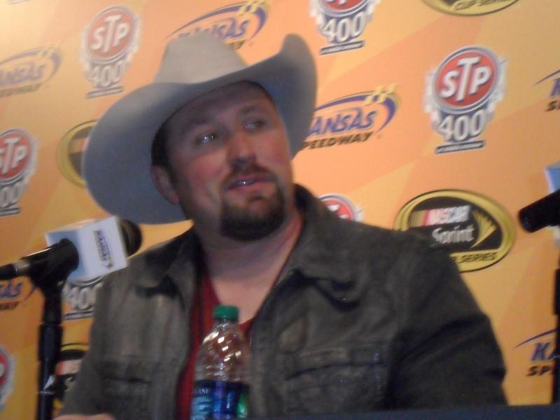 Country singer Tate Stevens.