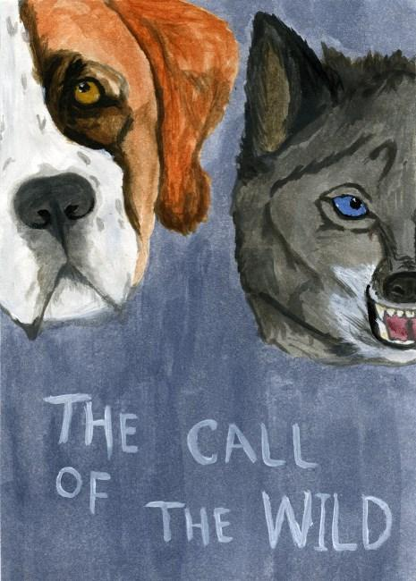 """The Call of the Wild"" by Jack London (Banned Books Trading Card Project )"