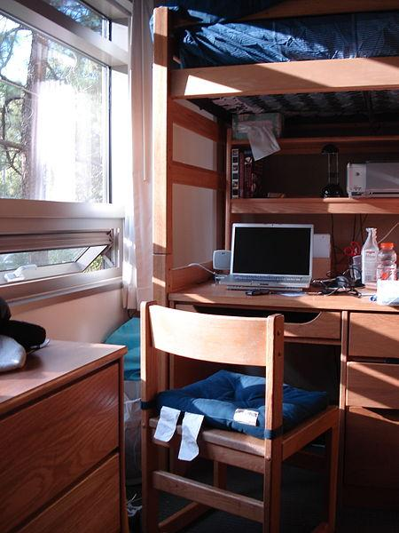 UCLA dorm room