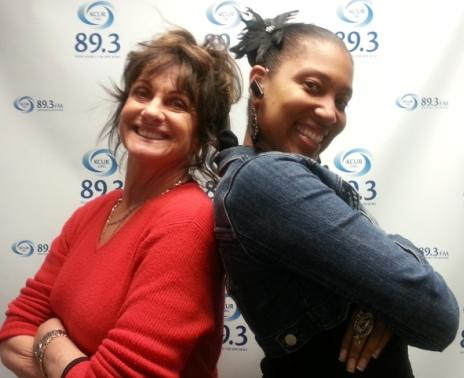 KCUR's Kim Noble (l) and Nicole Wright