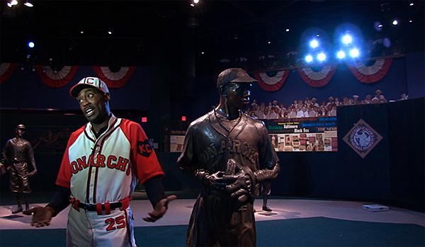Rob Karma Robinson, as Satchel Paige.