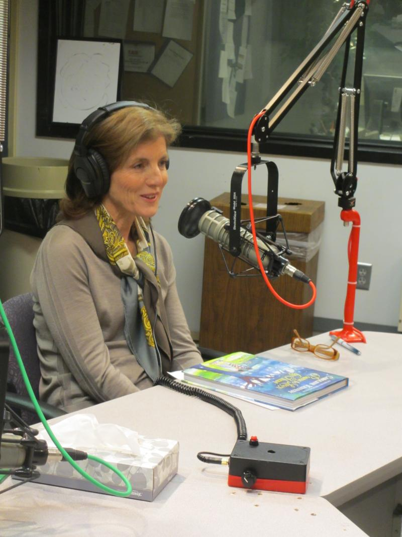 Caroline Kennedy spoke with Steve Kraske on Up to Date.
