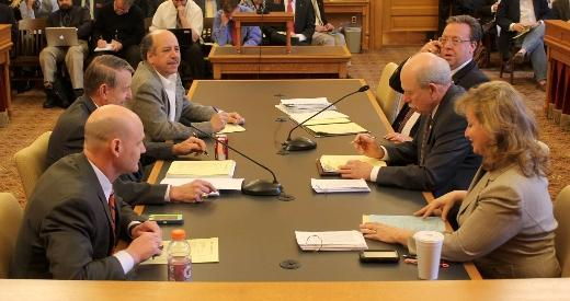 The tax conference committee meets Wednesday.