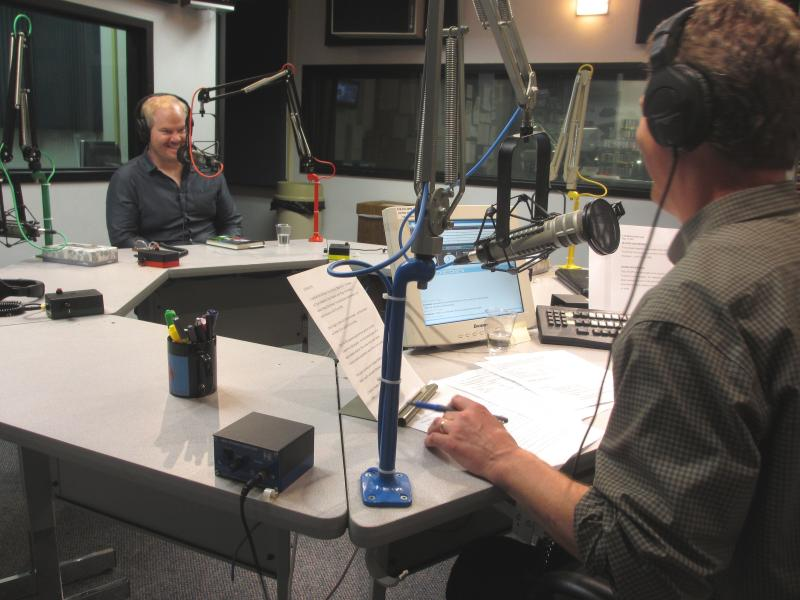 Jim Gaffigan chats with Steve Kraske on Up to Date.