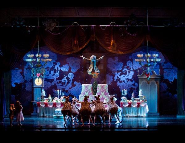 Frisch's Presents 'The New Nutcracker,' 2011. Devon Carney danced the part of Drosselmeyer.
