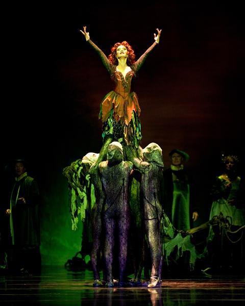 'The Sleeping Beauty,' 2010, Dawn Kelly, with Cincinnati Ballet dancers.