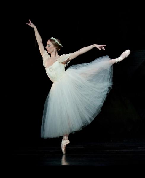 'Giselle' (choreography by Devon Carney), 2011, featuring Janessa Touchet.