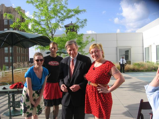 Jamilee Polson Lacy, Ezhno Martin, R. Crosby Kemper III, and Jeanette Powers at 'rises Zora' event.