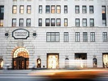 "The famous facade of Bergdorf Goodman in ""Scatter My Ashes at Bergdorf's."""