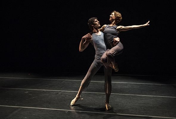 Geoffrey Kropp and Jennifer Owen will perform the contemporary dance work set to the music of J.S. Bach.