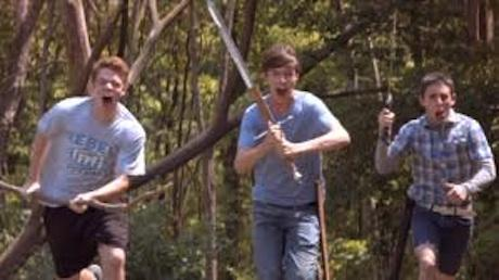 "In ""The Kings of Summer,"" teenage boys build a makeshift retreat from suburban angst."