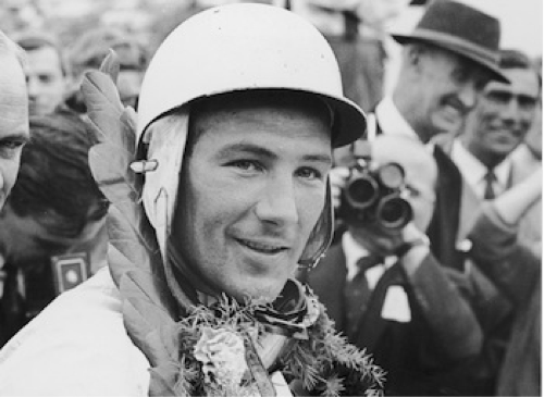 Race car driver Sir Stirling Moss